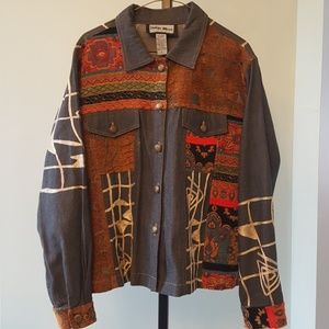 Indigo Moon denim jacket